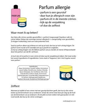 Folder parfumallergie