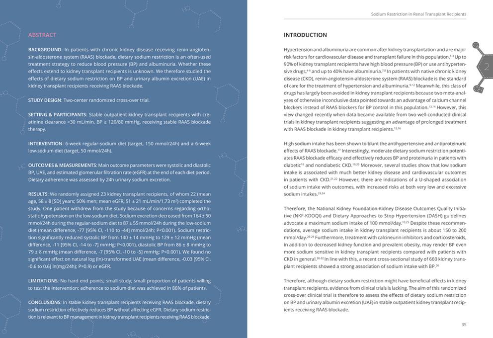 Proefschrift ontwerp layout abstract
