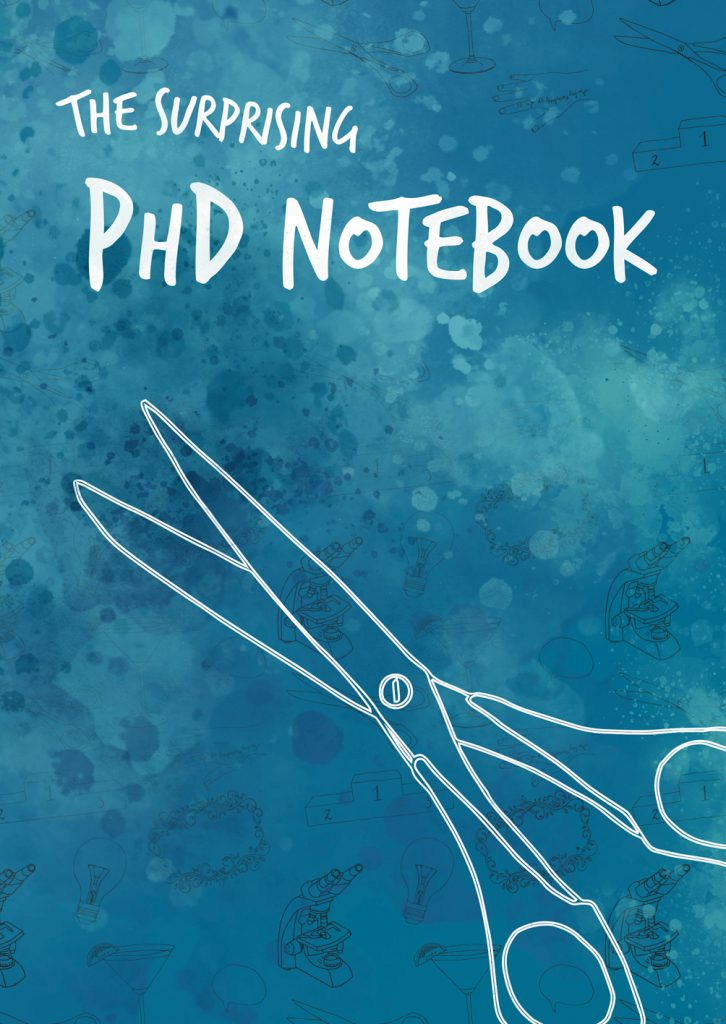 Creative notebook for PhD's