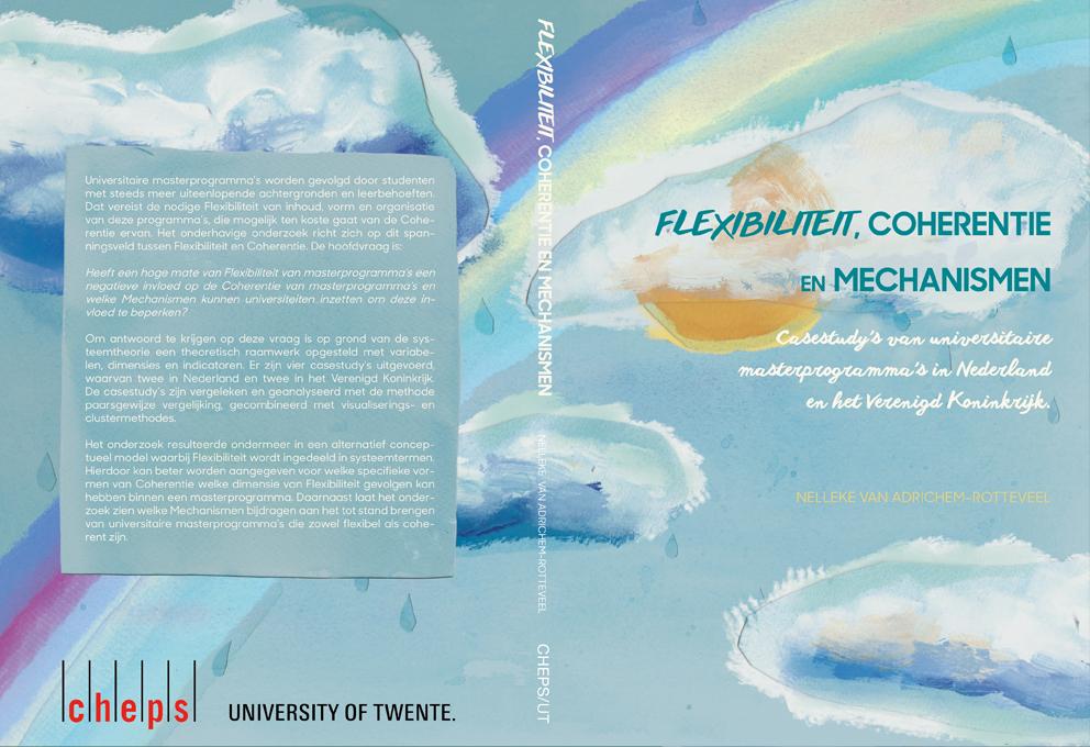Proefschrift kaft ontwerp PhD