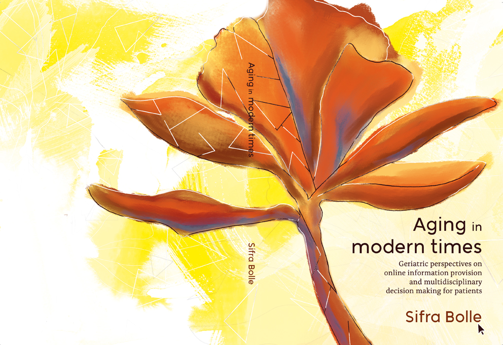 Proefschrift cover ontwerp