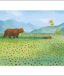 Fine art print from a star for everyone - all animals together